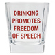About Face Drinking Promotes Freedom of Speech…