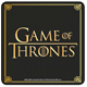Game of Thrones Logo Square Coaster