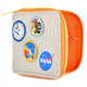 NASA Canvas Zipping Wallet with Badges