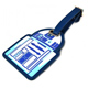 Star Wars R2D2 Luggage Tag