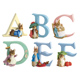 The World of Beatrix Potter Alphabet B BENJAMIN…
